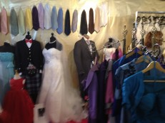 Posh Togs Exhibit- An example of Beautiful Budget Wedding Clothes