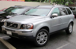 A Volvo XC90 similar to the one involved.