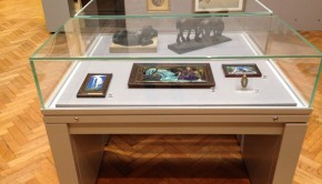 A collection of sculptures and paintings by women on display at the Russell-Cotes museum for Dangerous Women! From Kauffman to Emin
