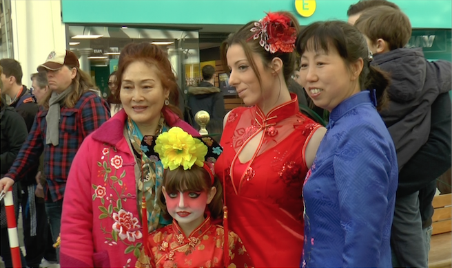 Multicultural Qipao Show in Boscombe