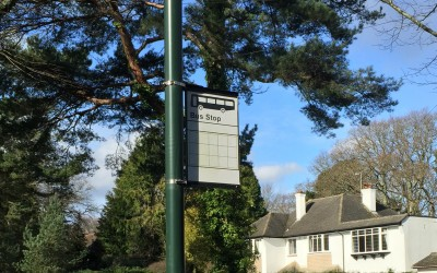 A bus stop with no routes could soon become the norm in rural areas