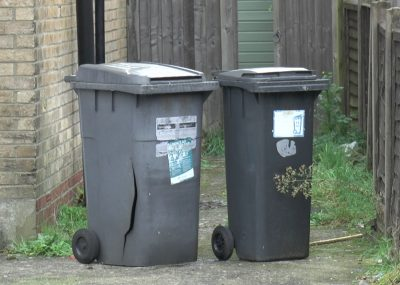 A photo of Bournemouth council's big and little bins