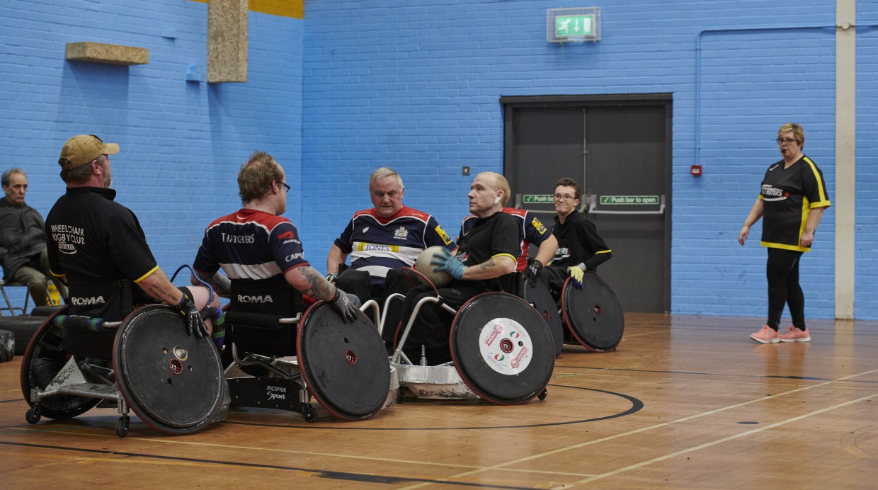 Local wheelchair rugby team aiming to break world record