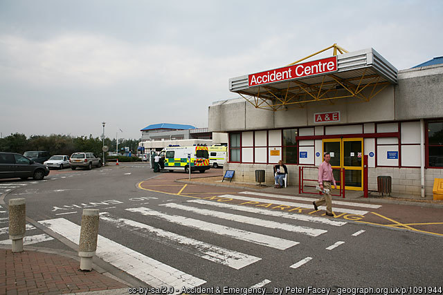 Royal Bournemouth Hospital A&E department