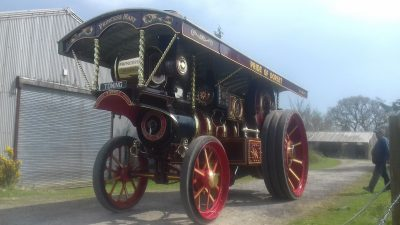 Historic steam engine returns to the road in Dorset
