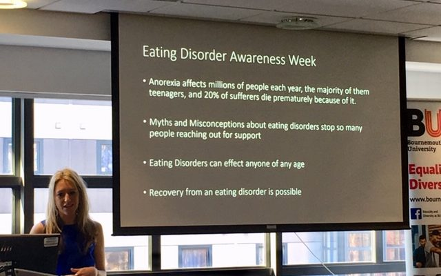 Classic Signals: Students identify signs of eating disorders