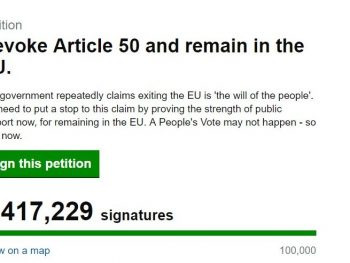 petition over 5m