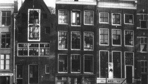 The Franks' apartment in Amsterdam