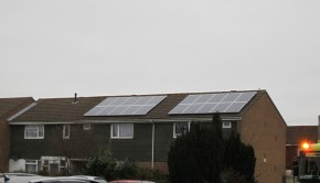Bournemouth council properties with solar panels | Photo: Mark Wilson