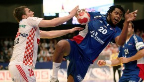 Olympic champions France in action against Croatia. Image | Wikimedia commons