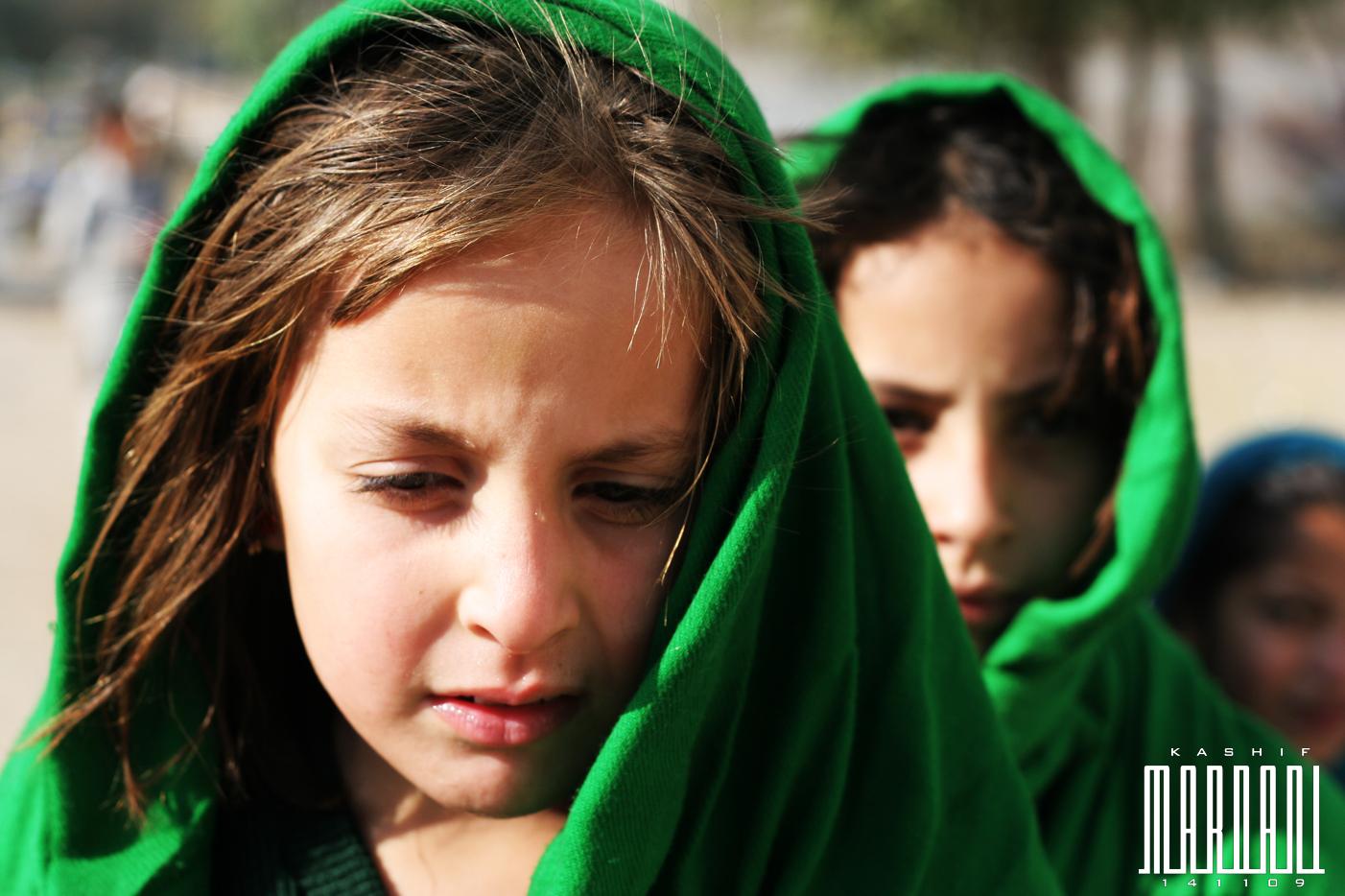 School girls in Swat valley