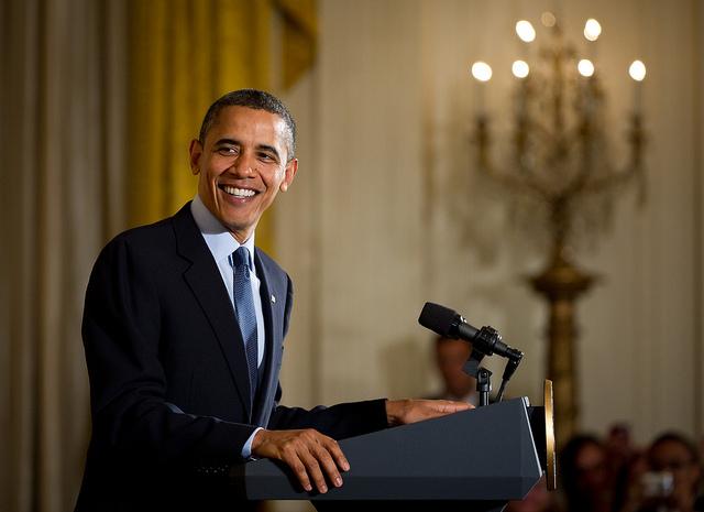 Barack Obama (Photo by Nasa hq flickr)