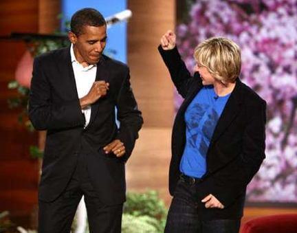 Obama and Ellen