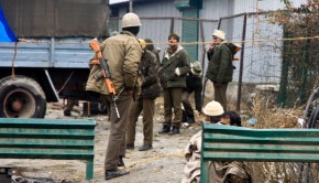 Militants attack CRPF officials in Indian Kashmir.