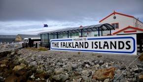 Falkland Islands passed referendum voting the islands British.