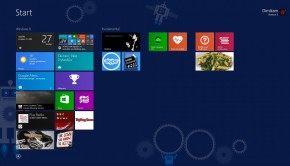 Windows 8.1 start screen aka the Metro interface