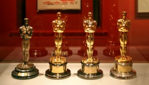 Academy award statuettes given to winners. Photo: cliff1066