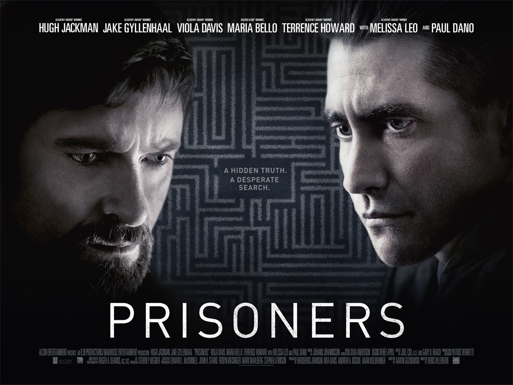 Prisoners theatrical release poster