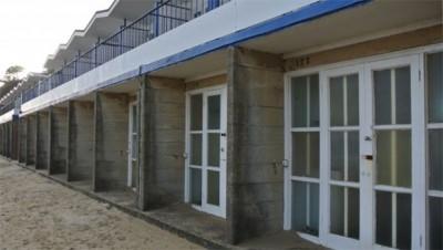 Poole beach huts
