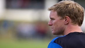 Eddie Howe has his eyes set on the Play-offs. Photo: Stuart Bramley