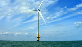 Offshore turbines could become a familiar site for Bournemouth residents. Photo: phault