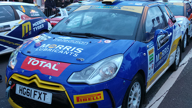 An example of the rally cars on display at Poole. Photo: Paul Boyce