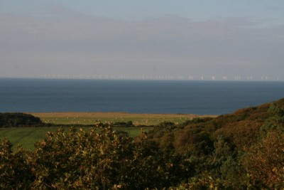 Sheringham Shoal offshore wind farm, North Norfolk