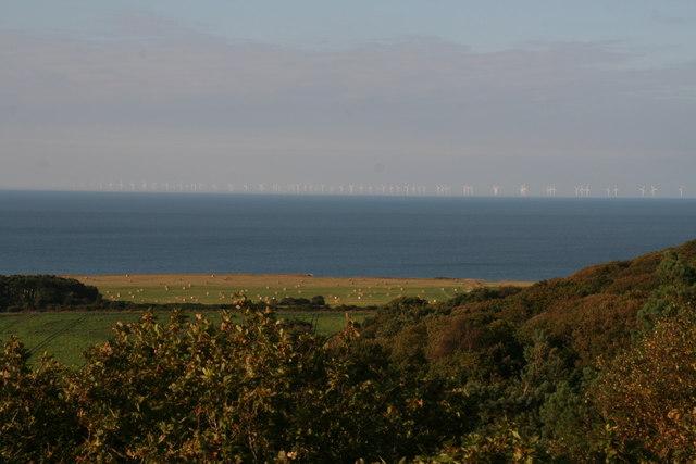 Sheringham Shoal offshore wind farm, North Norfolk