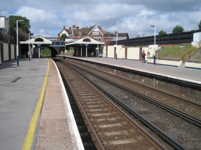 Branksome Train Station