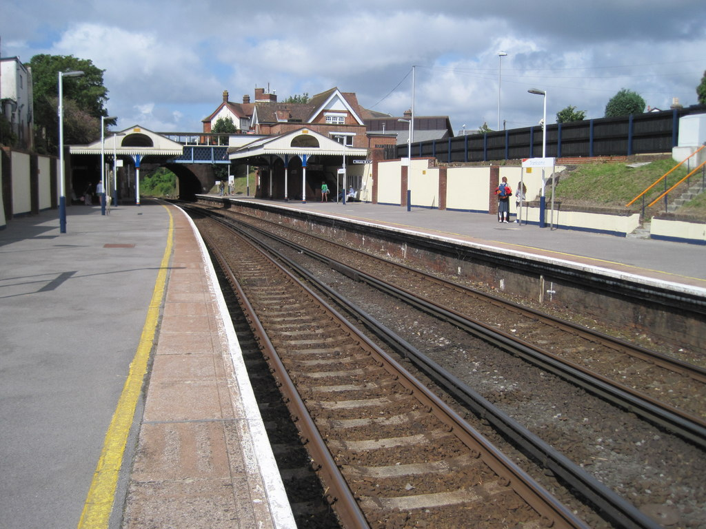 Branksome Train Station