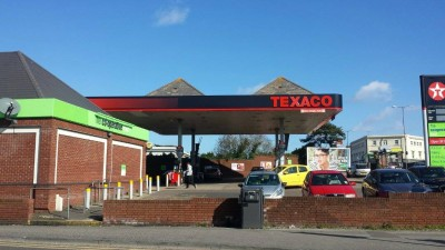 Photo of a petrol station in Bournemouth
