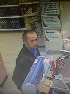 CCTV image of suspect. Photo: Dorset Police