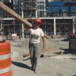 Women in construction still under-represented