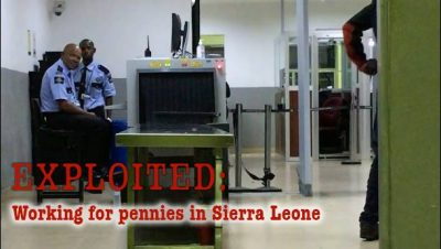 Protected: EXPLOITED: Working for pennies in Sierra Leone