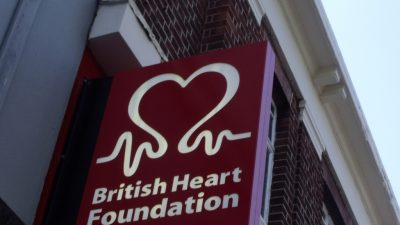 Picture of the British Heart Foundation logo.