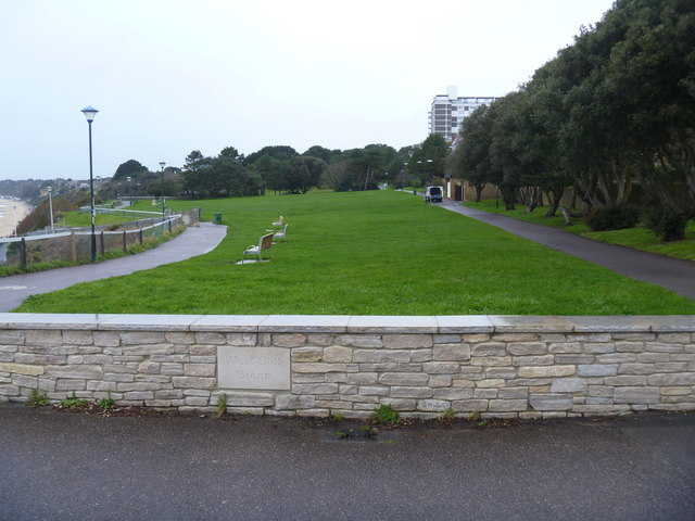 A photograph of trees in Bournemouth's Westcliff Garden