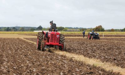 Tractors at Joint Ploughing Match