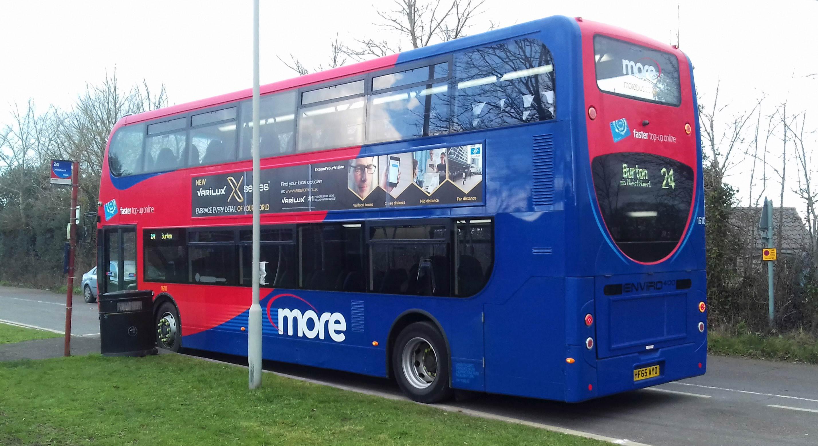 Burton bus