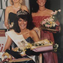 Angie Beasley, winning Miss Leeds Metro