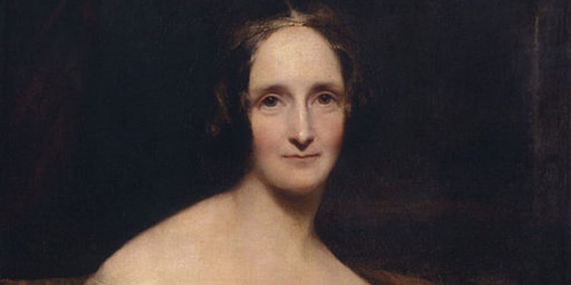 "Mary Shelley, the author of ""Frankenstein""."