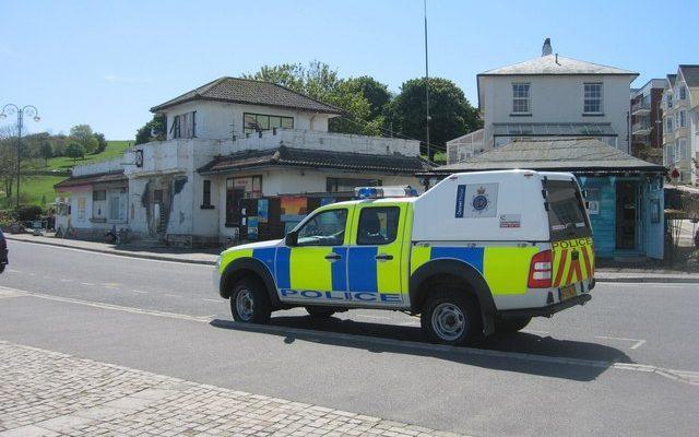 A Dorset Police Car