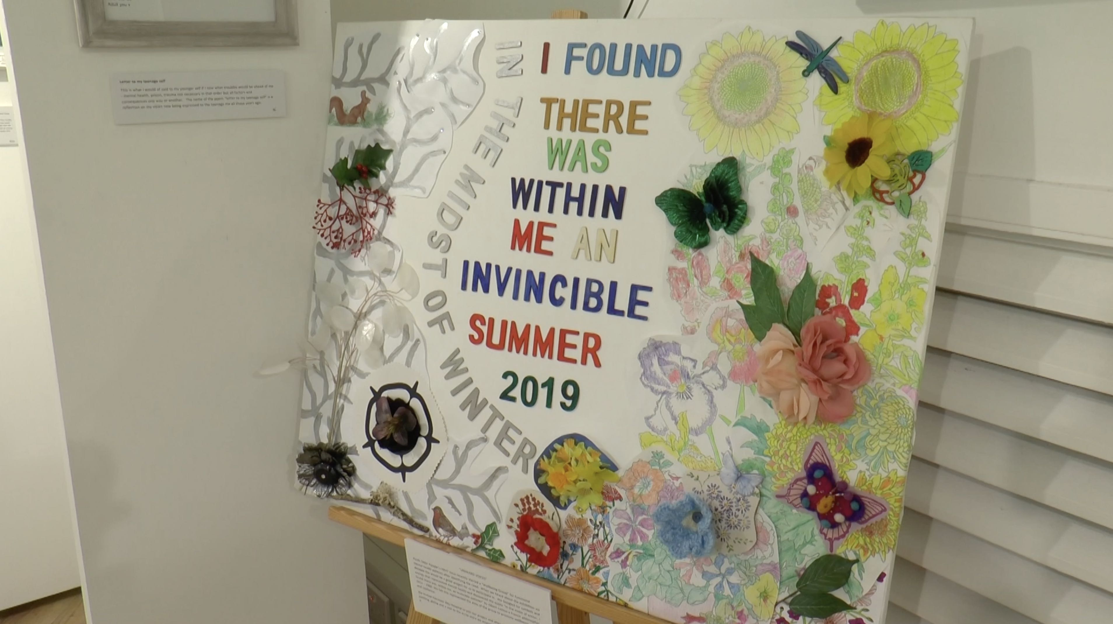 Patients express themselves through art