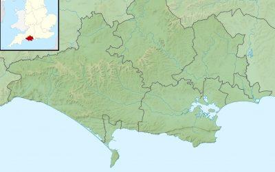 map of dorset