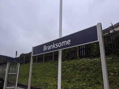 Photo of Branksome Railway Station