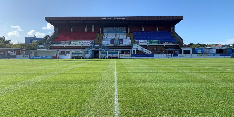Photo of Weymouth's Bob Lucas Stadium