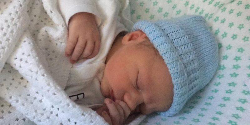 image of sleeping baby Charles