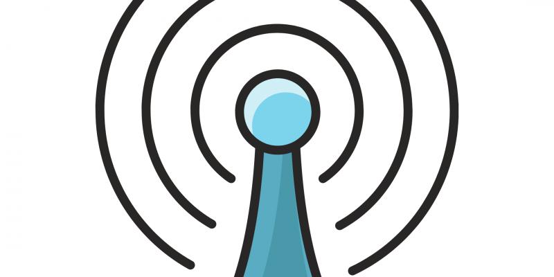 graphic of radio streams