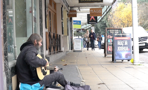 The majority of rough sleepers have disappeared from the street in the area of BCP