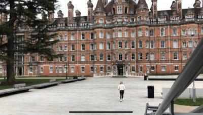 Founders Building at Royal Holloway University
